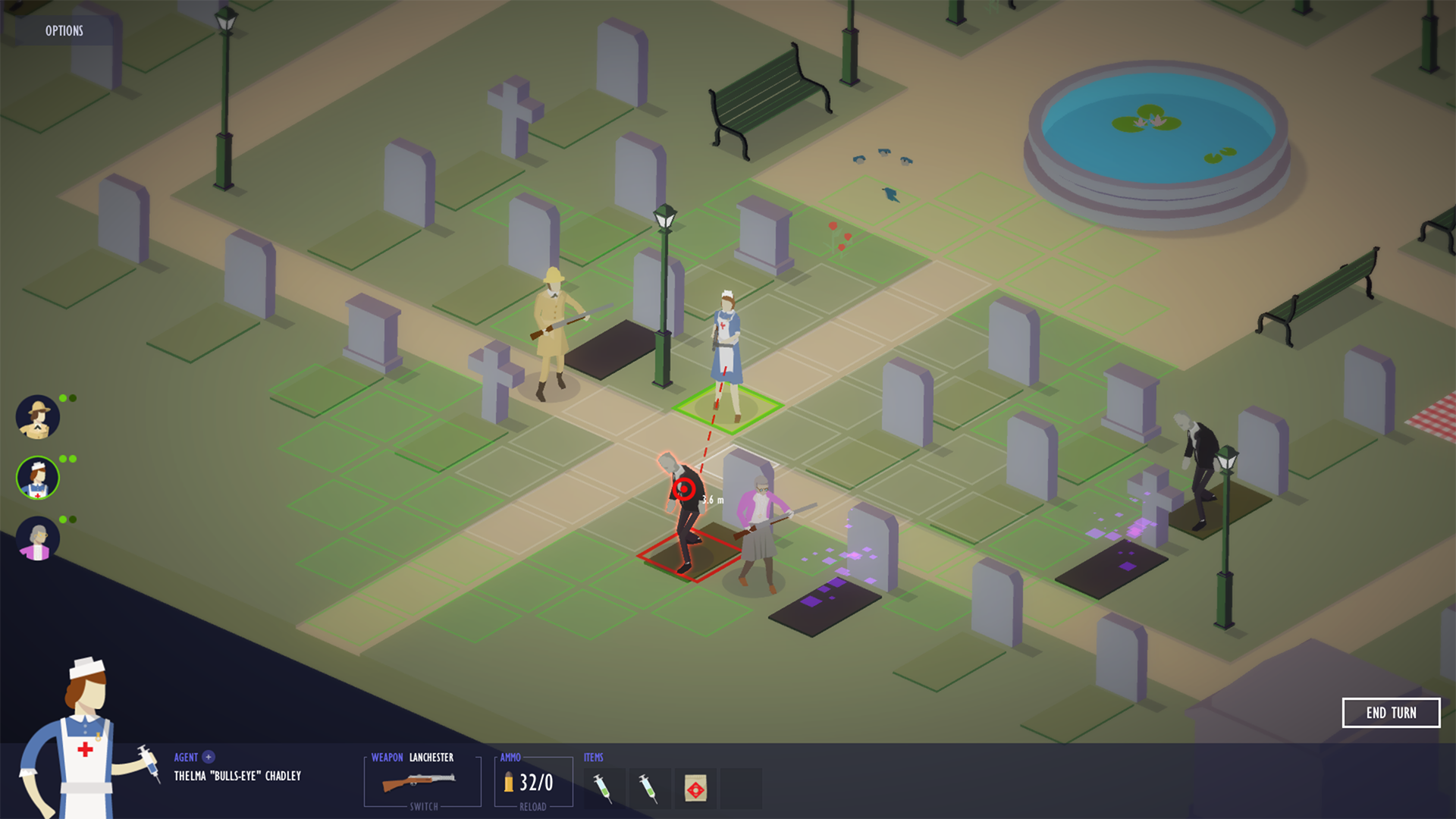 Royal Agents: Sweet Zombie – turn-based squad game